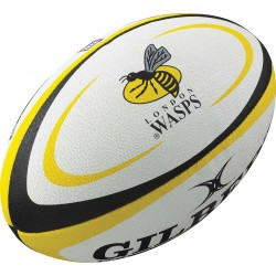 Mini Ballon Rugby Replica London Wasps / Gilbert