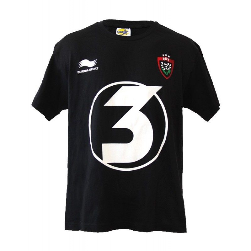 T-shirt triple Champion d'Europe / RCT