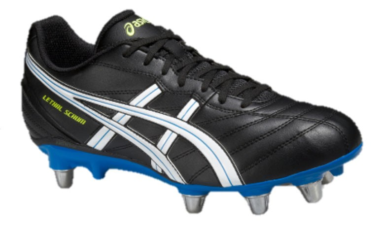 Chaussures de rugby 8 crampons Lethal Scrum / Asics