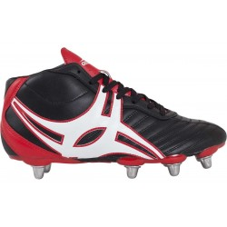 Chaussures Rugby SideStep XV 8 crampons Haute coquée / Gilbert