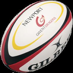 Ballons Rugby Newport Gwent Dragon / Gilbert
