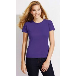 T-shirt Col Rond Manches Courtes Femme 1er Prix