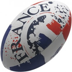 Ballon Rugby Supporter Flag XV de France / Gilbert