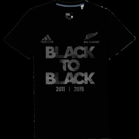 T-shirt commémoratif Black to Black All Blacks / adidas
