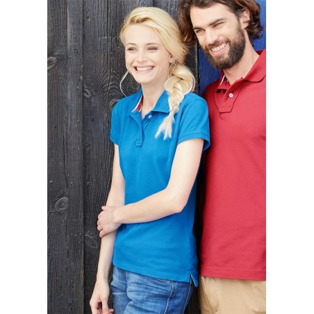 Polo Rugby Vintage Manches courtes femme