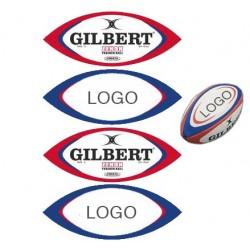 Mini-Ballon Rugby Personnalisé / Gilbert