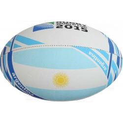 Ballon Rugby Flag Argentine RWC 2015 / Gilbert