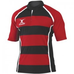 Maillot Match Rugby Xact Rayé / Gilbert