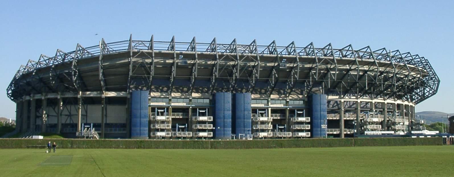 Stade de rugby de Murrayfield en Ecosse