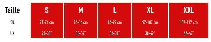 Comment choisir la bonne taille pour le short de compression Cross MC David ?