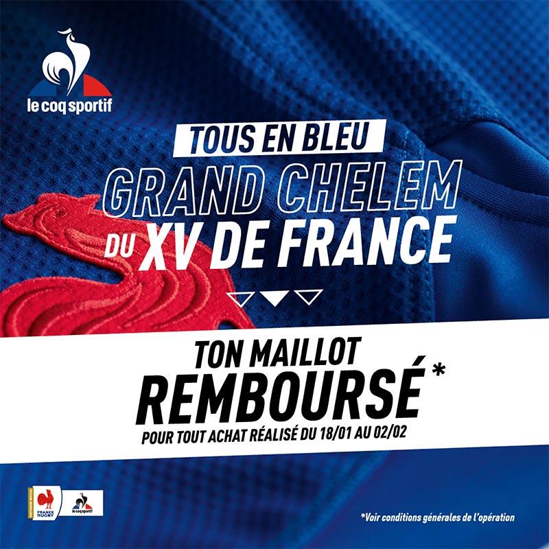 Gagnez le maillot du XV de France