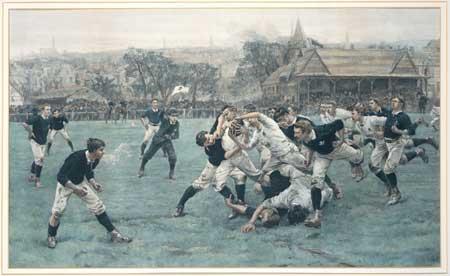 Première rencontre de rugby de l'histoire : Ecosse/Angleterre