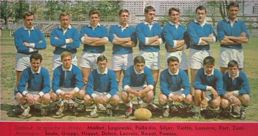 Maillot Agen 1965