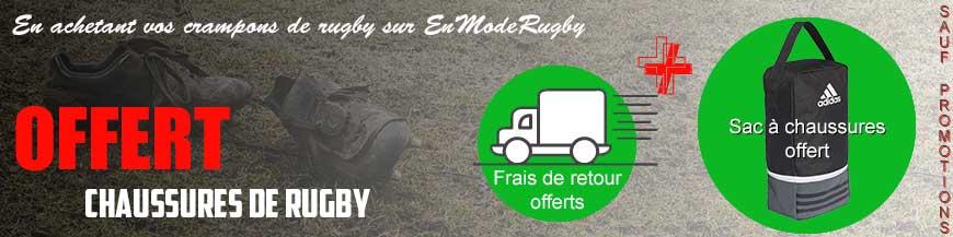 Achetez une chaussures de rugby,nous offrons le sac